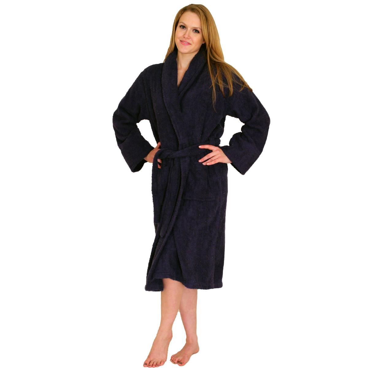 Bathrobe TerryCloth (Terry cloth) Bath Robe for women- $34.99 Colors