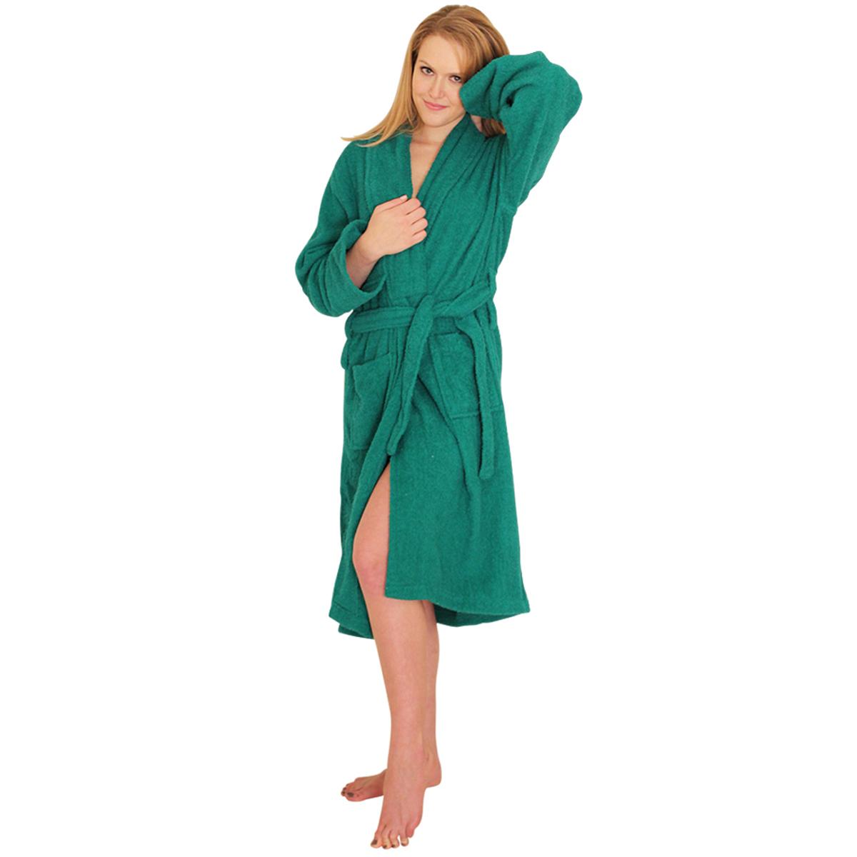 14d72189fb Bathrobe Terry Cloth (terrycloth) Bath Robe -  39.99 for Women and Men 100%  cotton