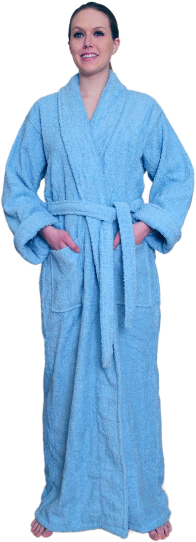 Full Length Terry Cloth Robe For 39 99 100 Cotton