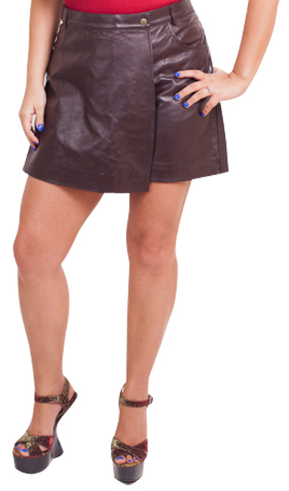 Women's Lambskin Leather Skort  - $65 Colors: Black Brown. Sizes:  Medium Large X-Large 2XL (+$10) ... Women's lambskin skort ( a combination of short and skirt.The lambskin is of very high quality, a