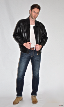 Men's Bomber Leather Jacket - $99.99 Colors: Black Brown. Sizes:  M L XL 1X(+$10) 2X(+$10)     The men's bomber leather jacket is made of high quality lambskin leather.