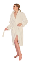 Chenille Robe Mid-Calf Length Wide Ribbed - $49.99 Colors: Lilac-2X/3X Lilac-L/XL Lilac-S/M Mint-2X/3X Mint-L/XL Mint-S/M SeaGreen-2X/3X SeaGreen-L/XL SeaGreen-S/M Teal-2X/3X Teal-L/XL Teal-S/M White-2X/3X White-L/XL White-S/M. Sizes: