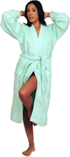 Men's and Women's Terry Cloth Kimono Robe  100% cotton - $29.99 Colors: Navy-S/M Pink-S/M Teal-L/XL Teal-S/M White-L/XL White-S/M . Sizes: