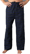 Men&#39;s Pajamas & Loungewear: Flannel Pants  - $12.99 Colors: Blackwatch Gray-Check Blue-Plaid. Sizes:  out of stock     <p>This 100% cotton men&#39;s flannel pant is ideal for loungewear and sleepwear, both for men and wo