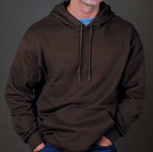 fruit of the loom best mid-weight hooded sweatshirt for 15.73 Colors: Ash Athletic-Heather Black Chocolate J-Navy Royal True-Red White. Sizes:  S M L XL 2XL(+$2) 3XL     16130m - fruit of the loom best. 8 oz. 50%cotton/50%polyester. one-ply hood with double-needle hem an