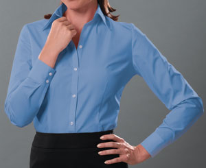 van heusen ladies silky poplin shirt for 20.28 Colors: Black Cardinal