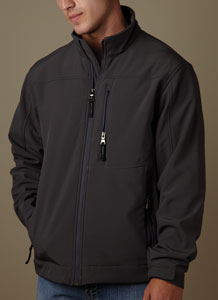 weatherproof soft shell jacket for 56.44 Colors: Black Graphite Navy. Sizes:  S M L XL 2XL(+$2)     6500m - weatherproof. polyester/spandex shell. soft brushed polyester inner face. wind and water resi