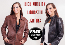 Leather Jackets for Women (Lambskin) from $120