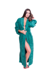 Womens Full Length Wide Ribbed Chenille robe- $59.99  Fuschia-S/M  Fuschia-Plus(+$5)  Lilac-S/M Lilac-Regular Lilac-Plus(+$5) Teal-S/M Teal-Regular  Teal-Plus(+$5) Sea-Green-S/M Sea_Green-Regular  Sea_Green-Plus(+$5) White-S/M White-Regular White-Plus(+$5)